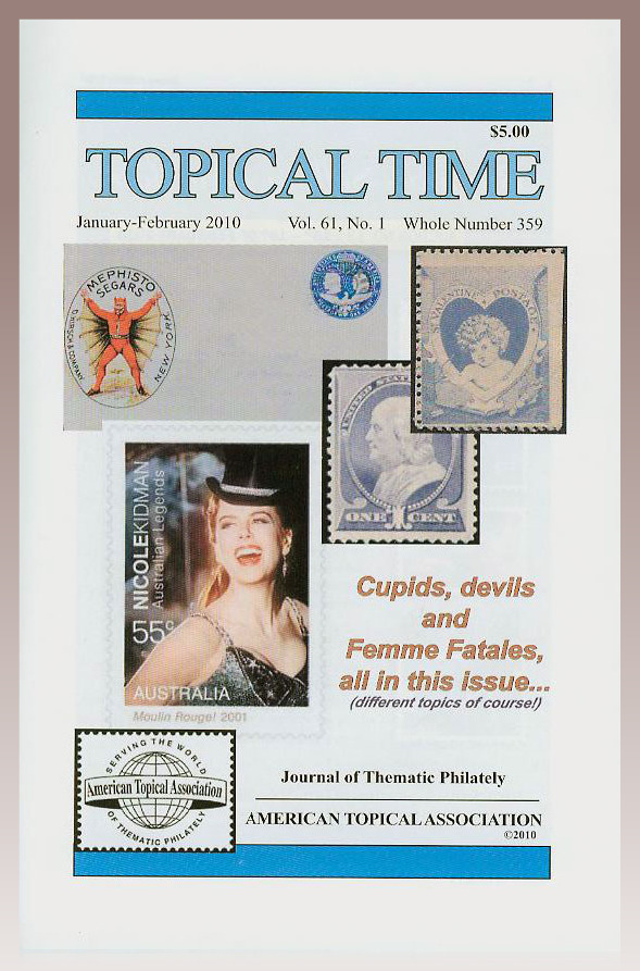 Topical Time ATA magazine