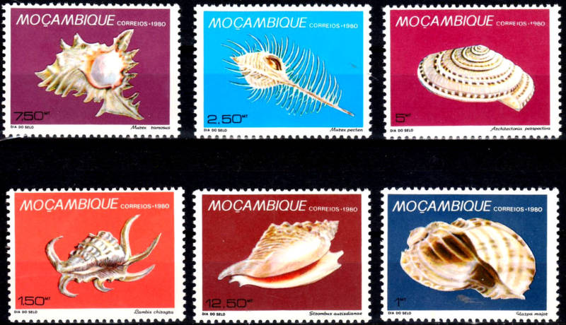 Mozambique - Shells - 1980