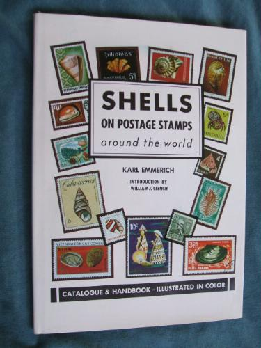 Shells on postage stamps by Karl Emmerich