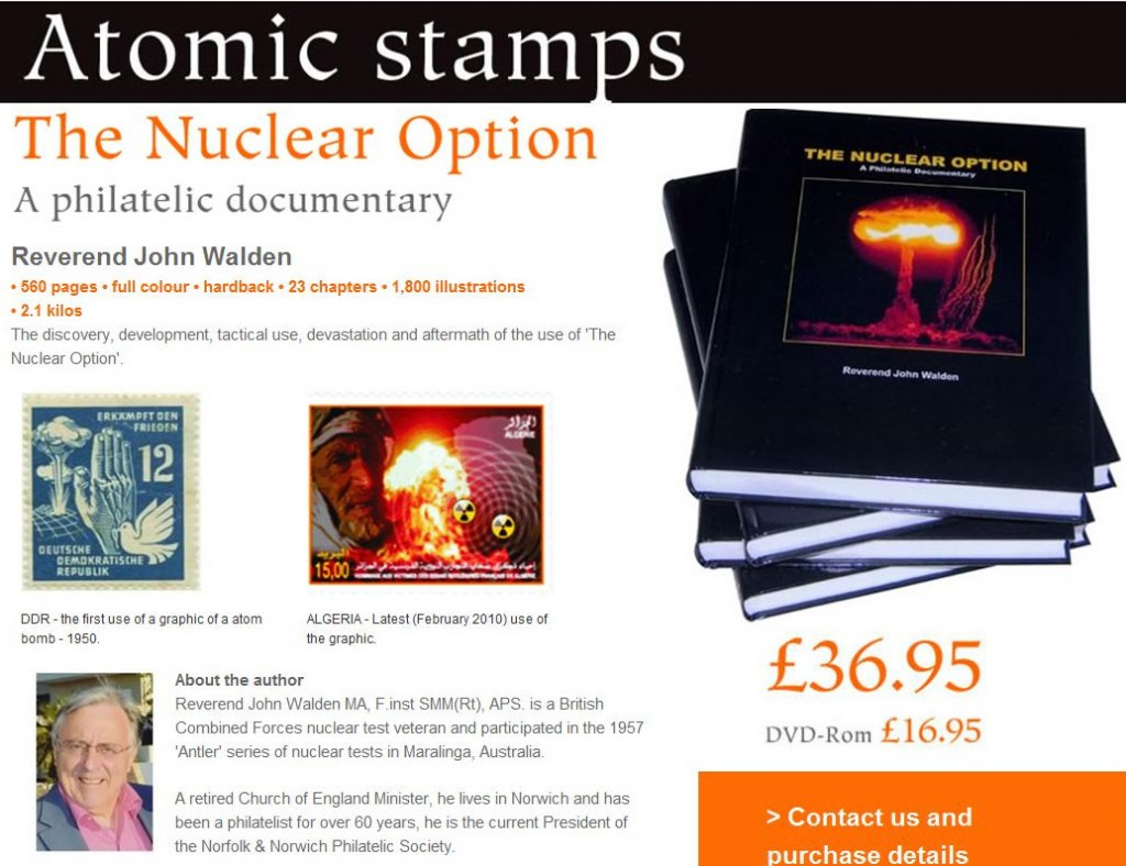 Topical Stamp Collecting - Atomic Warfare