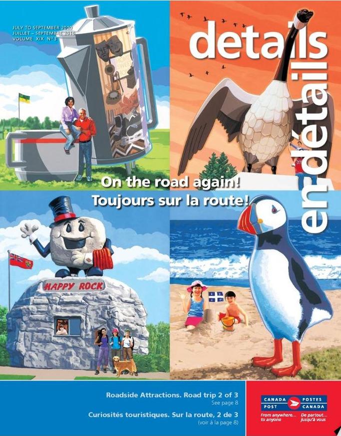 Details Magazine En Détails - Canada Post