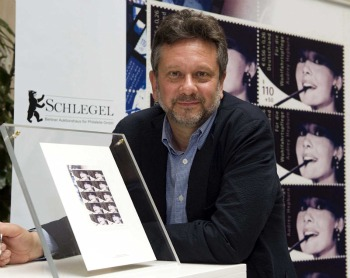 Sean Ferrer -Schlegel Auction German Error Audrey Hepburn Mint Sheet