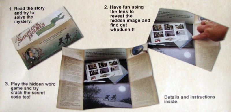 sherlock holmes alderney postage stamps mystery pack