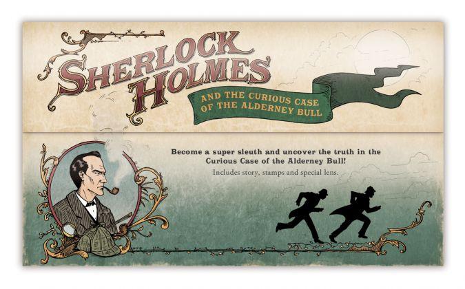 Alderney Postage Stamps - Sherlock Holmes Mystery Pack