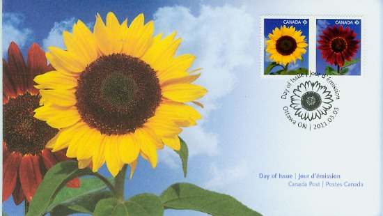 Canada Post Sunflowers First Day Cover
