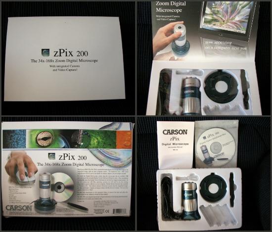 zPix 200 Zoom Digital Microscope
