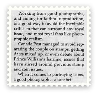 Royal Wedding - Brett Evans- Photography on Stamps