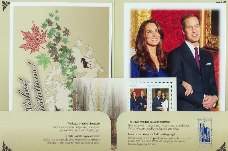 Canada Royal Wedding Keepsake