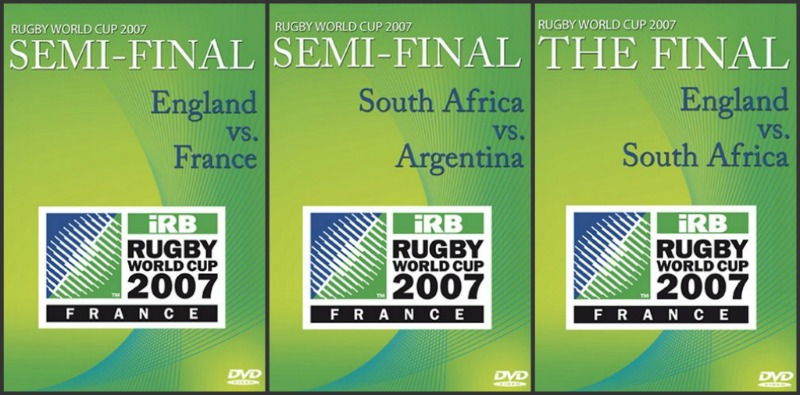 World Cup Rugby 2007 DVD
