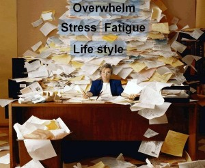 overswamped overwhelmed stress fatigue lifestyle