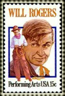 USA 1979 Will Rogers Cowboy Postage Stamp