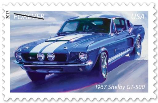 Classic Muscle Cars Featured on US Postage Stamps (Topical Stamp ...