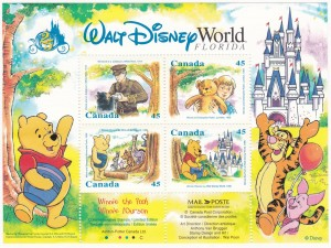 Walt Disney Canada Post Winnie The Pooh