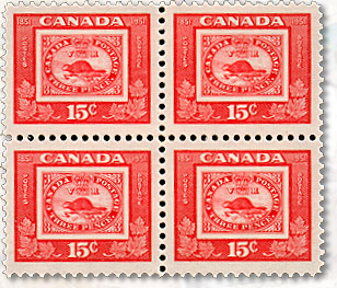 Centenary of Canada's First Postage Stamp 1851-1951