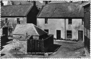 JM Barrie Birthplace in Kirriemuir, Angus, Scotland
