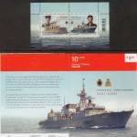Canadian Navy Centenary Stamps