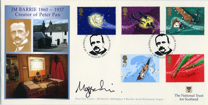 JM Barrie Creator of Peter Pan FDC National Trust