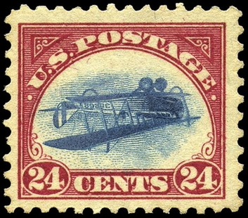 USA Inverted Jenny Stamp