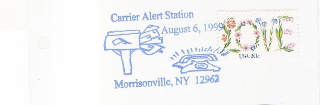 USA-Topical Postmarks-Mailbox-Love