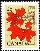 Autumn Maple Leaves- Canada Post