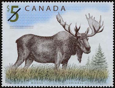Canadian Fauna On Stamps - Moose