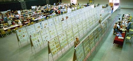 Philately - Stamp Collecting Exhibition Hall