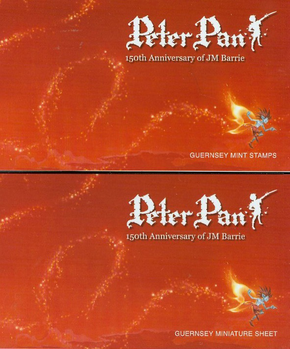 alderney-peter-pan-jmbarrie-150th Ann-