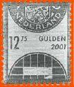 Netherlands-Guilders-2001-Silver-Stamp