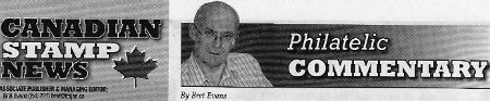 Brett Evans Philatelic Commentary CSN Chronicle