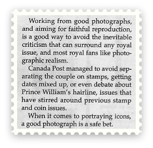 Royal Wedding - Brett Evans- Photography on Stamps