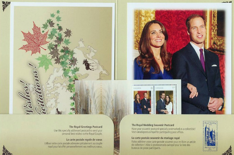 Canada Royal Wedding Keepsake