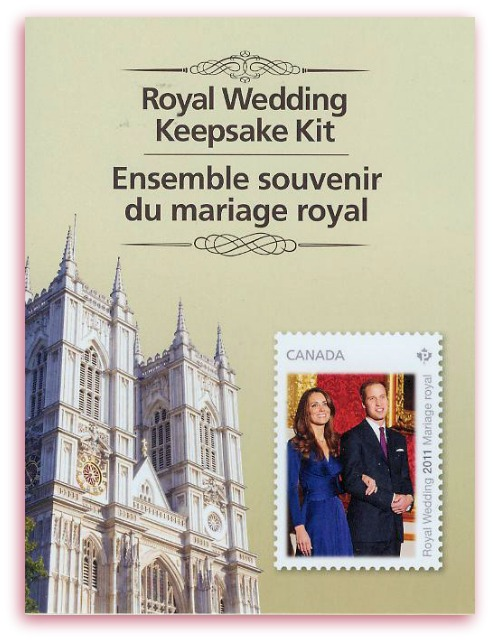 Royal Wedding Keepsake kit (Canada)