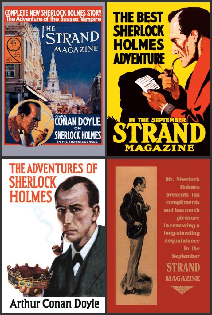 Sherlock Holmes Posters & Canvas Prints Strand Magazine