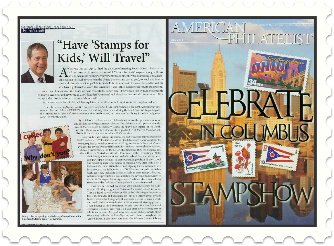 Stamps For Kids Program Travel-APS