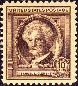 USA-Samuel L Clemens-1940-Mark-Twain-Sc863
