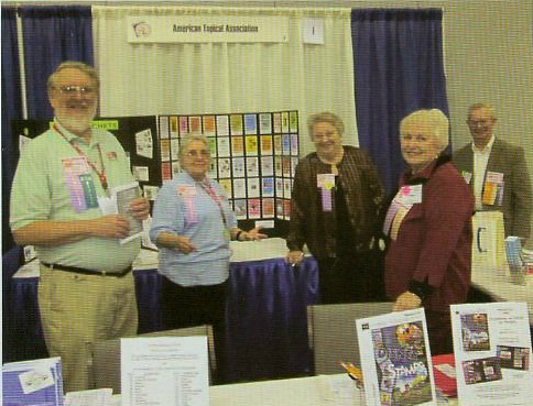 Members at American Topical Association Show Booth