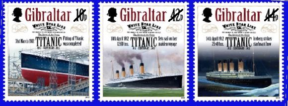 2012 Gibraltar Titanic Centenary