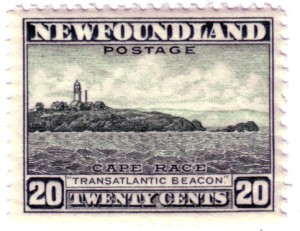 Newfoundland-Cape-Race-Transatlantic-Beacon-Postage -Stamp