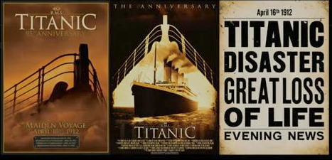 100th Ann Titanic Sinking 1912-2012