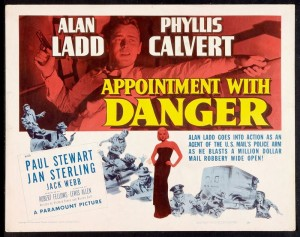 postal theme movie appointment with danger