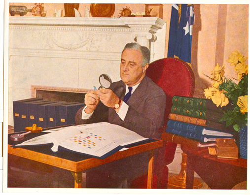 Franklin D Roosevelt - Famous Stamp Collector