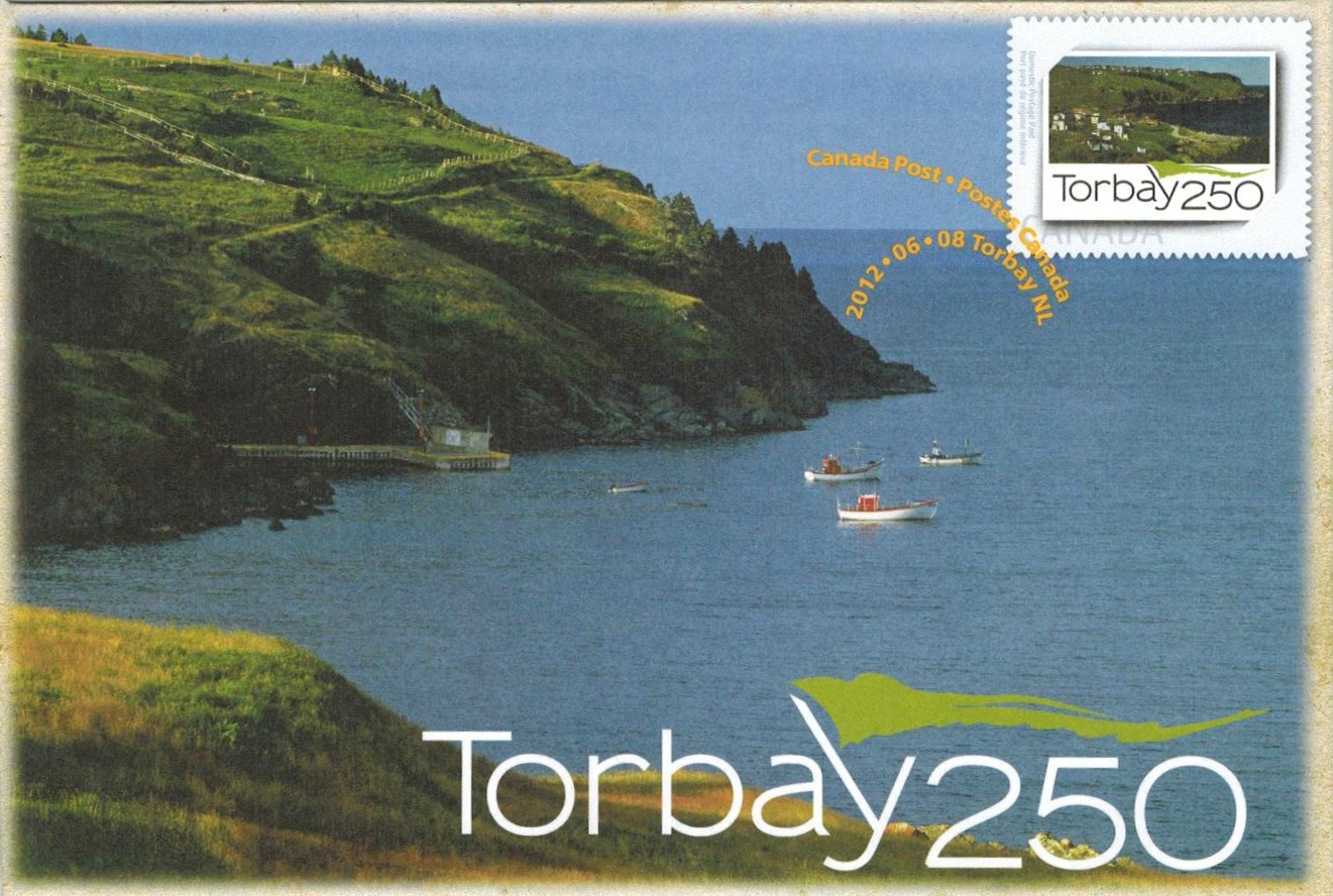 Torbay-Newfoundland-250th-canadian-commemorative-cover-2012