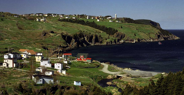 Torbay Newfoundland Coastline Scenery