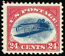 USA inverted Jenny