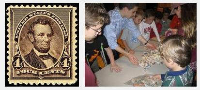youth-stamp-collecting-abraham-lincoln