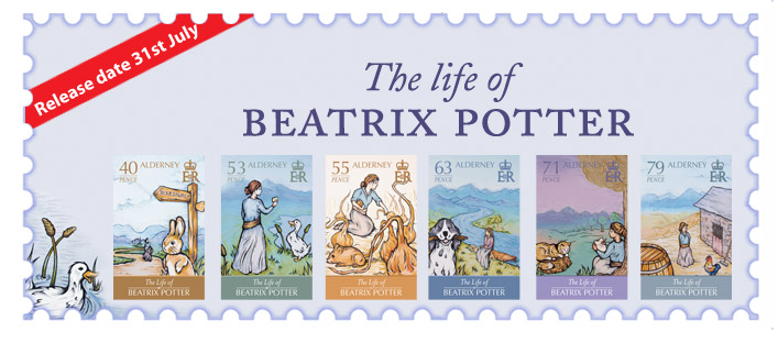 Life-Beatrix-Potter-Postage-Stamps-Alderney