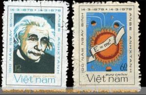 vietnam-einstein-postage stamps