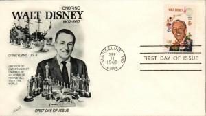 Walt Disney USA FDC