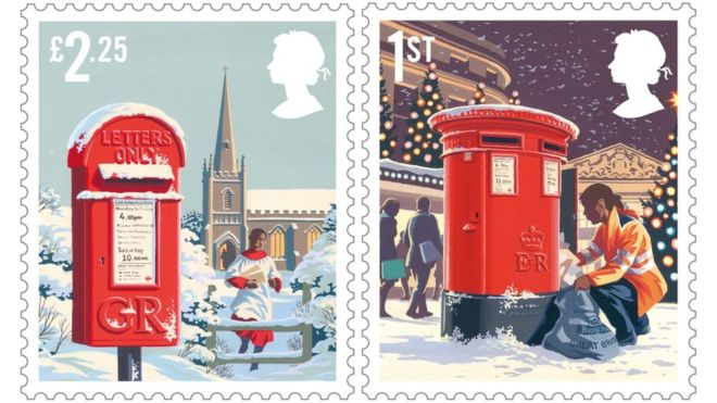 2018 Great Britain Christmas Stamps