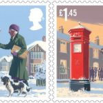 2018 Great Britain Christmas stamps series
